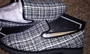 Karl Lagerfeld Paris Classic Textured Loafers
